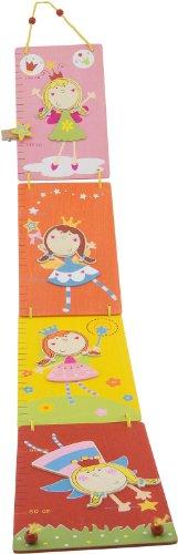 Bieco 4102111 - Faltbare Messlatte Girls, 80 - 150 cm
