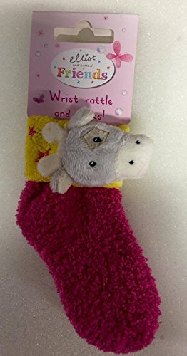 shop inc Mädchen oder Jungen Elliot & Buttons Freunde Wrist Rattle und Socken Set neues Baby-Geschenk