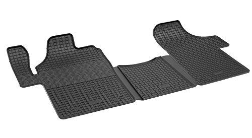 Passgenaue Gummimatten Ganzjährig Automatten schwarz Fußmatten Allwettermatten Premiun Qualität - 4D-RIG-0277