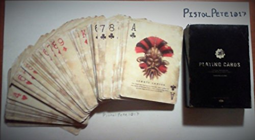 FALLOUT New Vegas Collector's Edition Deck of Caravan Playing Cards (Best Way To Get Caps In Fallout New Vegas)