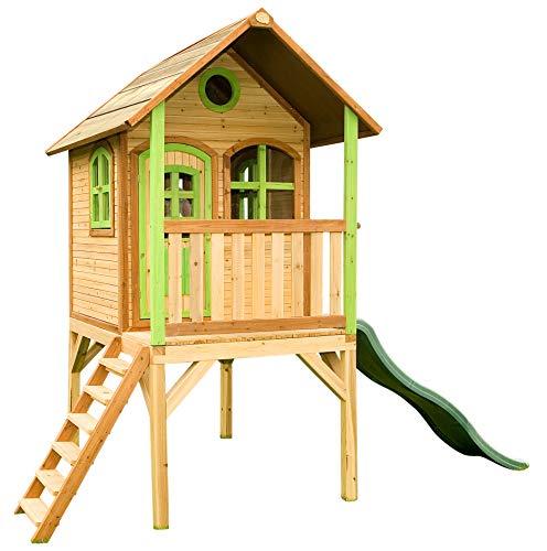 Axi House Cabane Enfant Laura en cdre Vernis Naturel