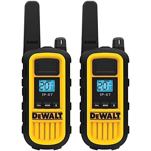 DEWALT DXFRS800 2 Watt Heavy Duty Walkie...