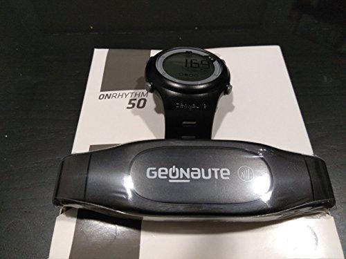 Geonaute Fitness - Reloj con Monitor de frecuencia cardíaca, Resistente al Agua
