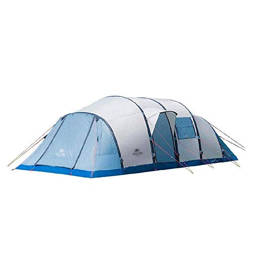 XIUYU Camping Tent, Outdoor Camping Oversized Tent 8-10 People Ultra Light Portable Folding Sun Protection Waterproof Equipment 315 * 210 * 730CM