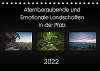 Atemberaubende und Emotionale Landschaften in der Pfalz (Tischkalender 2022 DIN A5 quer): Schoene Landschaftsmotive der Pfalz (Monatskalender, 14 Seiten )