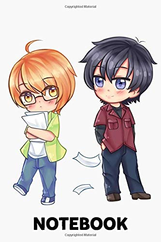 Love Stage Chibi Izumi And Ryouma Notebook: (110 Pages, Lined, 6 x 9)
