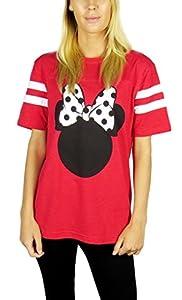 Disney Womens Minnie Mouse Varsity F...