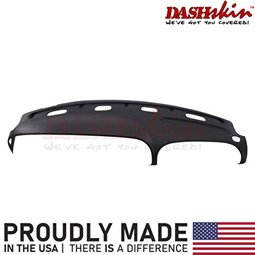 DashSkin Molded Dash Cover Compatible with 98-01 Dodge Ram in Black (USA Made)
