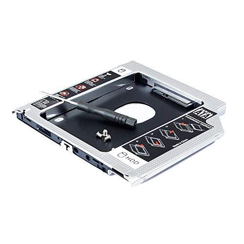 Seconda unità disco rigido a stato solido per Apple MacBook Pro 2011 15 15.4 pollici laptop A1286 Core i7 MC721LL/A MC723LL/A MD318LL/A, CD DVD SuperDrive sostituzione alloggiamento ottico