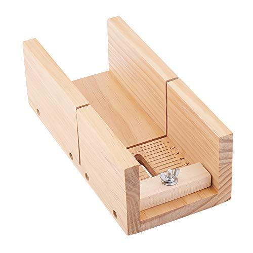 PandaHall Cortador de jabón de madera ajustable jabones biselador cepilladora herramienta de corte herramienta de corte para velas hechas a mano jabones que hacen juego de herramientas