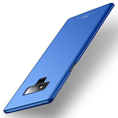 Estuyoya - Custodia Compatibile con Samsung Galaxy Note 9 Carcassa Posteriore Rigida [Ultrasottile] Resistente a Cadute e Urti [Anti Impronta Digitale] Protezione Leggera e Tocco Soffice - Azzurro