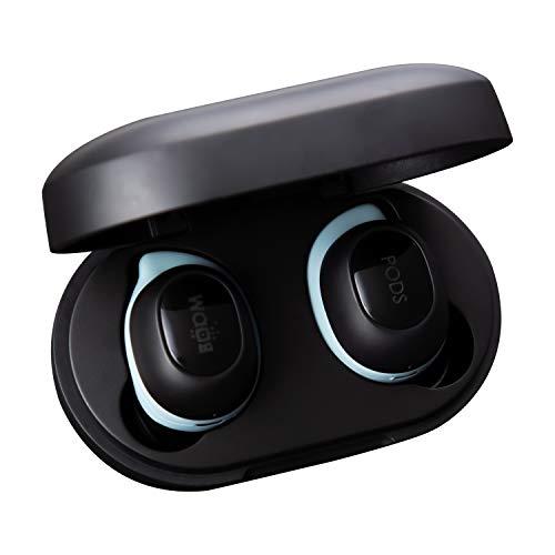 BOOMPODS Boombuds GS True Wireless – Auriculares Bluetooth IPX5 resistentes al agua/al sudor Ergofit, funda de carga magnética portátil, los mejores auriculares deportivos
