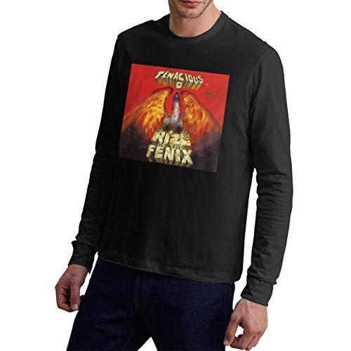 Tenacious D Rize of The Fenix Men Sports and Leisure Langärmliges T-Shirt