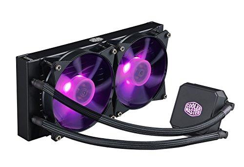Cooler Master MasterLiquid LC240E RGB 76.4 CFM Liquid CPU Cooler