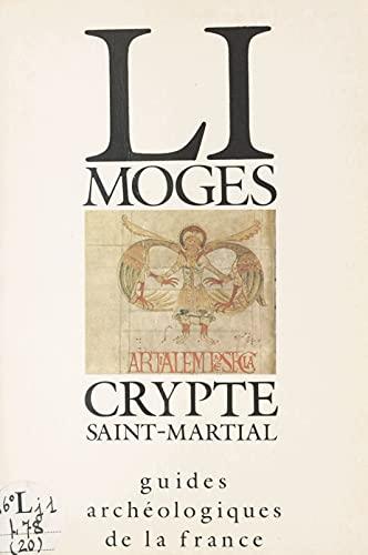 Limoges : Crypte Saint-Martial
