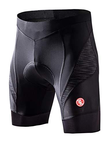 Men/'s Cycling Shorts Reflective 5D Gel Pad High Visibility MTB Bike Half Shorts