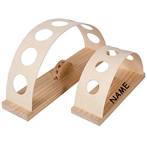 alles-meine.de GmbH Holz Ständer - für 5 Stück Schultüten - von 10 bis 100 cm - incl. Namen / Zuckertüte - Holzständer Schultüte Zuckertüten - auch geeignet für Schulanfang Feier..