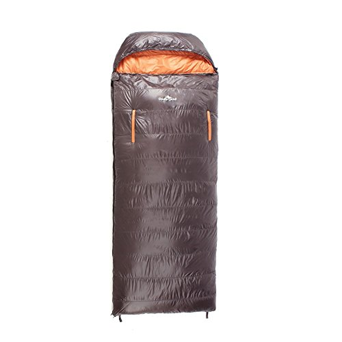 CampLand 23°F Down Sleeping Bag Ultralight Waterproof for Camping Backpacking Hiking