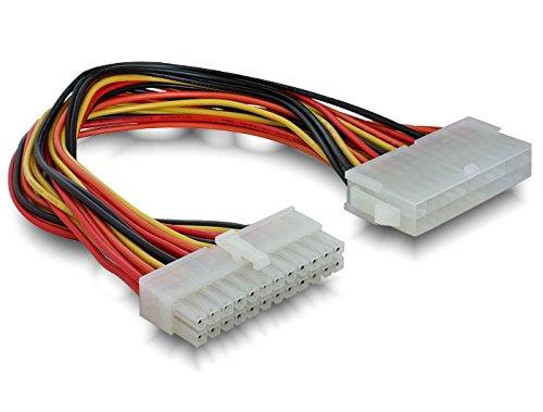 DeLOCK - Cable Adaptador de alimentación de Fuente AT a Placa Base ATX (24 Pines, 0,3m)