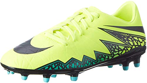 Nike Herren JR Hypervenom Phelon II FG 749896 108 Fußballschuhe,  Gelb (Gelb (Volt/Black-Hyper Turq-Clr Jade)), 42.5 EU