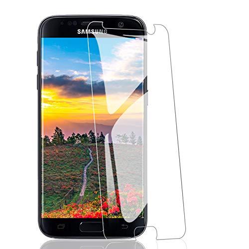 RIIMUHIR-3 Pack Vetro temperato per Samsung Galaxy S7, durezza 9H, AntiGraffio, HD Trasparente, Ultra-chiarezza, Anti-Impronte digitali