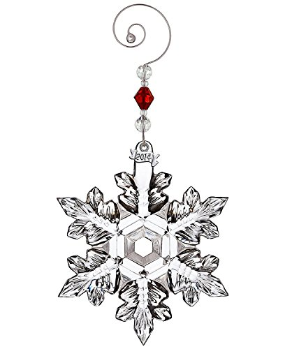 Price comparison product image Waterford 2014 Snow Crystal Pierced Christmas Ornament