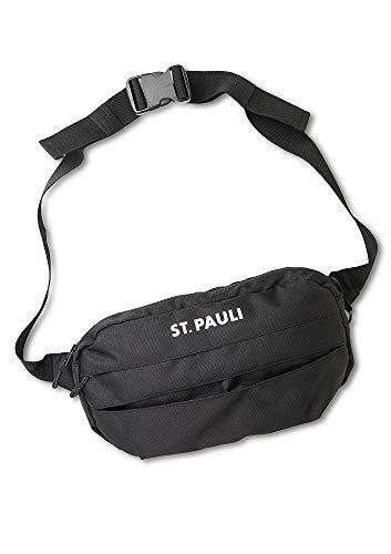 FC St. Pauli - Schriftzug, Hip Bag mittel schwarz 31 x 13cm Gürteltasche
