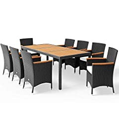Poly Rattan Sitzgruppe 8