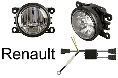 Euralight LED Tagfahrlicht + LED Nebelscheinwerfer 90mm mit E-Prüfzeichen eintragungsfrei~