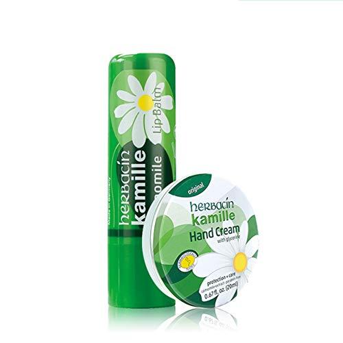 wuta kamille Lippenpflegestift mit Kamille, aus biologischem Anbau und Bienenwachs