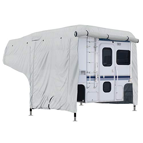 Classic Accessories Over Drive PermaPRO Deluxe Water-Repellent Camper Cover, Fits 10' - 12' Campers