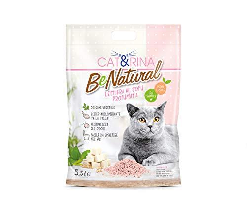 CAT&RINA Benatural - Arena al Tofu perfumada - 5,5 L