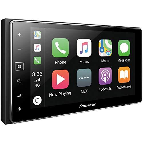 Pioneer MVH-1400NEX Digital Multimedia Video Receiver CarPlay with Blue Tooth (Renewed)