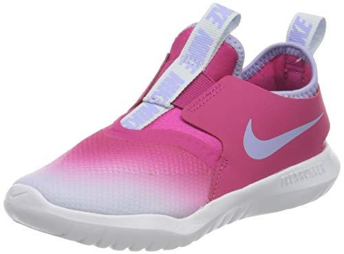 Nike Flex Runner (TD), Scarpe da Ginnastica Unisex-Bambini, Fireberry/Purple Pulse-Football Grey-White, 25 EU