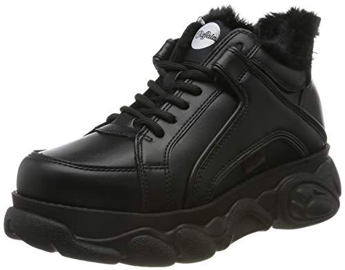 Buffalo Damen Corin Sneaker, Schwarz (Black 001), 39 EU
