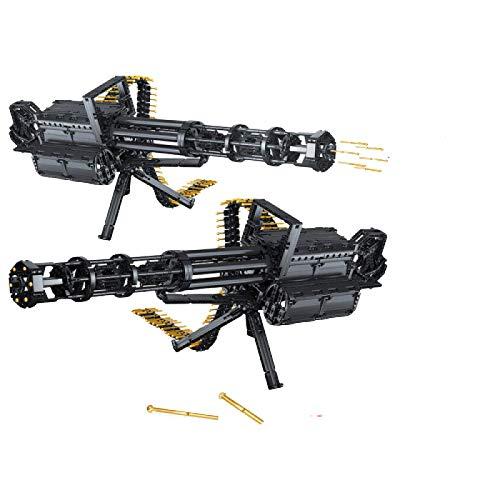 Rawikan 1422pcs City Gatling Block Gun Modelo DIY (Compatible con Lego)