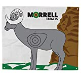 Morrell Actual NASP/IBO 3D Full Size Ram Polypropylene Archery Target Face with Grommets