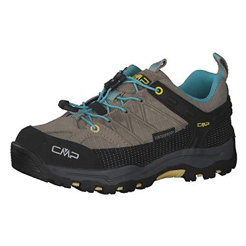 CMP Kinder Trekking Schuhe Rigel Low 3Q54554 Corda-Lemon 30