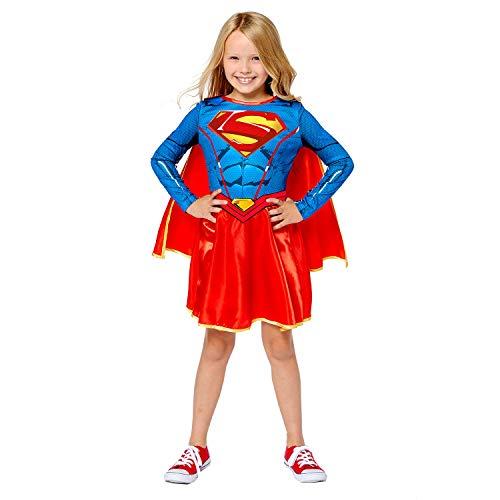 Amscan 9910134 Supergirl - Disfraz de Halloween (2 a 3 aos), color azul
