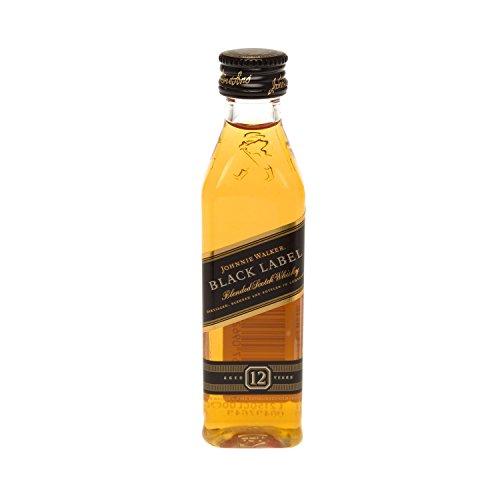 Johnnie Walker black Label 12 x 0,05 L