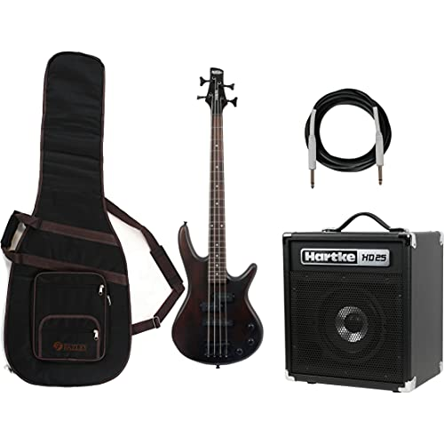 Ibanez GSRM20B-WNF + Amplifier, Cable and Gig Bag