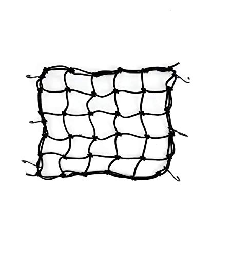 2PCS Motorcycle cargo net elastic rope heavy luggage net suitable for bicycles and motorcycles