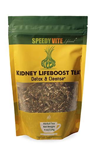 SpeedyVite Kidney Bladder LifeBoost Tea (114g) Herbal Supplement Organic Cleanses & Supports Urinary Tract Health - Marshmallow Root Dandelion Leaf Goldenrod Juniper Hydrangea +More Natural Detox