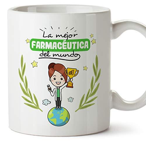 MUGFFINS Taza Farmacéutica (Mejor del Mundo) - Regalos Originales y Divertidos de Farmacia