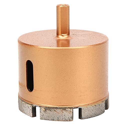 Accesorio de herramienta manual, sierra de corona Durable Portátil Conveniente para ladrillos vitrificados para taladros manuales para taladros de banco para taladradoras(70 mm)