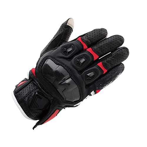 Touchscreen-Motorradhandschuhe Geformte Hartschale Atmungsaktiver Motocross-Handschuh rutschfeste Roller-Motorradhandschuhe für Outdoor-Sportarten