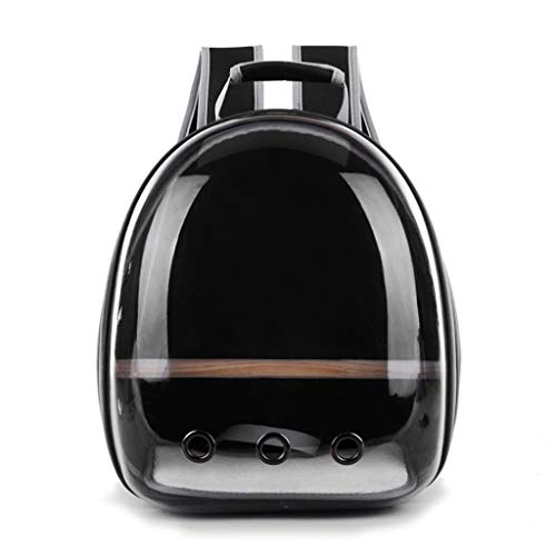 Pet Parrot Carrier Bird Travel Bag Space Capsule Transparent Backpack Breathable 360° Sightseeing