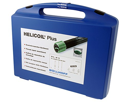 HELICOIL Plus Gewindereparatur Kit M7 P1,0 metrisches-ISO Edelstahl A2