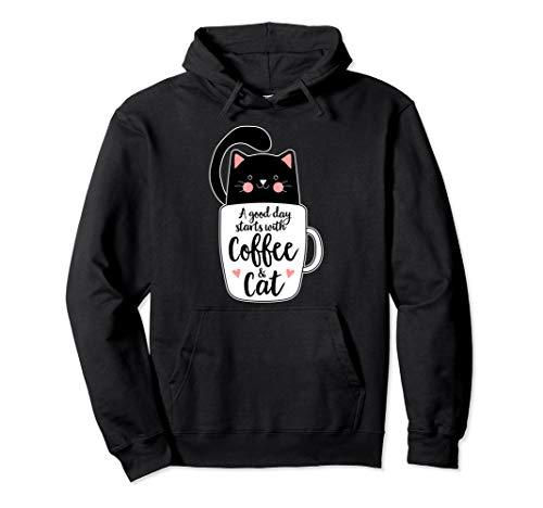 Cute Black Kitty Coffee Mug Cats Coffee Funny Cat Mom Gifts