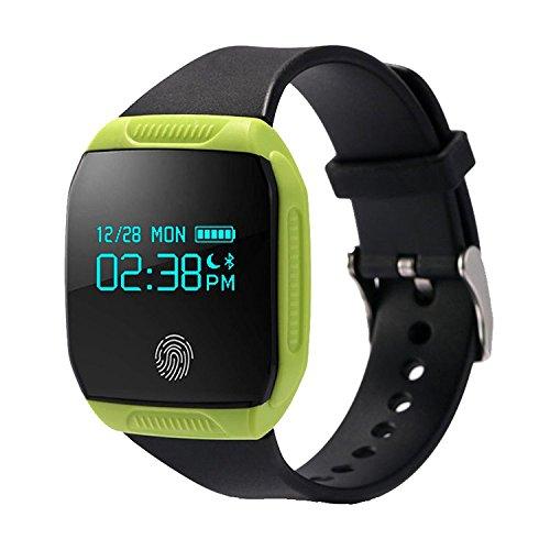 Fitness Armband,IP67Wasserdicht Fitness Tracker Aktivitätstracker Sportuhr für Schwimmen Radfahren Laufen,Schrittzähler,Schlafanalyse,Push-Message und Anrufer, Kompatibel mit iPhone Android Handy